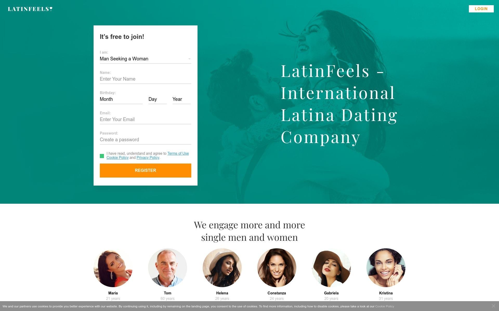 Review Latin Feels Site